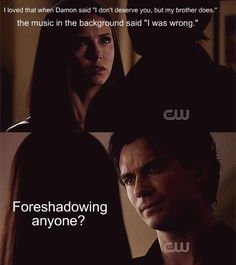 So true! I thought only I noticed this :) I love them..they make a realistic pair who faces ups and downs but their love, respect and trust for each other never waivers! Elena always forgives Damon because she knew he's a part or her life and that important part that she can never replace.