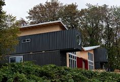 Home partially made from shipping containers rising in east Vancouver