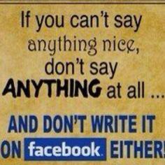 Golden rule :)