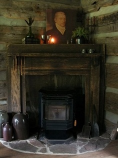The Corner Fireplace, The Old Jugs, The Hanging