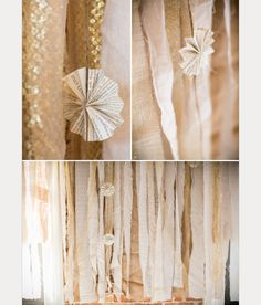 Gorgeous Garland Wedding Inspiration ~ we ❤ this! moncheribridals.com