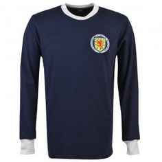 Shop for Scotland retro football shirts dating all the way back to the inspired by historical team kits and manufactured at TOFFS' UK-based factory. Retro Football Shirts, Retro Shirts, Football Team, Rangers Fc, Embroidered Badges, Cool Countries, 1970s, Scotland, St Andrews