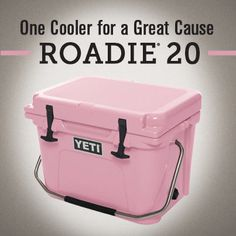 Pink Yeti Cooler