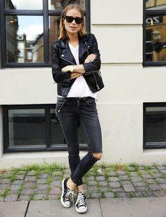 08e4ca43de8bd 16 meilleures images du tableau Blouson cuir femme en 2017 | Vestes ...
