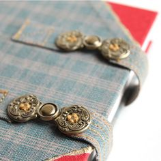 bookbinding with buckle closures | handmade travel journal by Ruth Bleakley