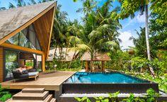 Garden Villa with Pool St Regis Maldives . Garden Villa with Pool St Regis Maldives . the St Regis Maldives Vommuli Resort Nilandhoo Best Resorts In Maldives, Maldives Resort, Hotels And Resorts, Maldives Vacation, Luxury Resorts, Saint Regis, Garden Villa, Overwater Bungalows, Island Resort
