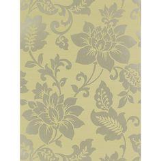 Buy Harlequin Wallpaper, Sophistication 25679, Sage / Gilver Online at johnlewis.com