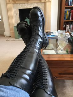Mens Tall Boots, Tall Leather Boots, Short Boots, Leather Men, Men's Boots, Riding Boots, Combat Boots, Skinhead Boots, Mens Boots Fashion