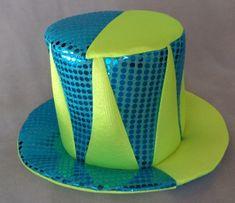 Hacer Sombreros para cotillón tipo galera  0c77c2f090f