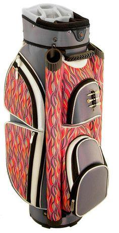 A perfect way to organize golf stuff, through Wildfire Hunter Ladies Eclipse Cart Golf Bag! #golf #golfbags #lorisgolfshoppe