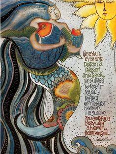 Laurel Burch...Ocean Songs
