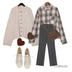 Korean Outfits, Retro Outfits, Trendy Outfits, Korean Ootd, Cute Outfits, Winter Fashion Outfits, Modest Fashion, Hijab Fashion, Mode Dope