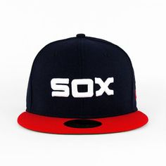 Chicago Whitesox Retro Onfield (Green Under) 59fifty Five Panel Cap 91e95844273d