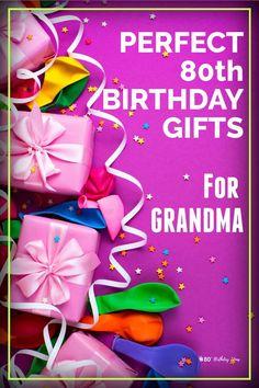 Birthday Gift Ideas for Grandma Great Grandma Gifts, Birthday Gifts For Grandma, 80th Birthday Gifts, Birthday Book, Birthday Candy, Birthday Ideas, 80th Birthday Decorations, Birthday Centerpieces, Gifts For Older Women