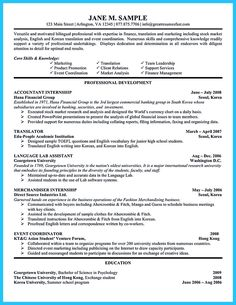 nice sample for writing an accounting resume
