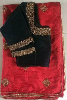 Five Best Saree Blouse Designs – Fashion Asia Saree Blouse Neck Designs, Saree Blouse Patterns, Fancy Blouse Designs, Bridal Blouse Designs, B 13, Fancy Sarees, Blouse Models, Clothes For Women, Blouses