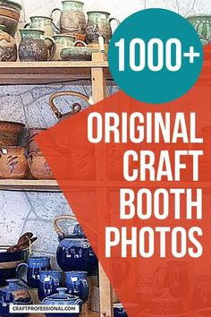 Loads of craft display booth ideas. This page links to over 1000 original photos of craft show booth photos you can use to design your own display for craft fairs and markets. #craftfairs #craftbooth #craftprofessional Vendor Displays, Craft Booth Displays, Display Ideas, Easy Diy Crafts, Diy Craft Projects, Crafts To Sell, Selling Crafts Online, Craft Online, Craft Show Booths