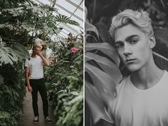 this past weekend sean swanson and i did a shoot in seattle's volunteer  park conservatory. i haven't photographed many male models (aside from eric  ambrose) so this was super fun and different! i think guys are my new  favorite subject to shoot. everything was shot with my canon 50mm f/1.4  le