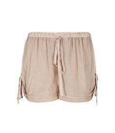 Quartet Gloss Shorts, Women, Trousers, AllSaints Spitalfields