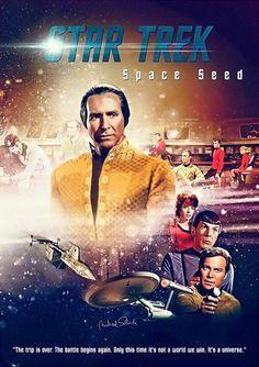 Star Trek TOS - Space Seed...!