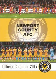 A must-have for any fan of The Exiles – featuring photos of the team and manager in their home ground, Rodney Parade. Buy it now from Calendar Club for only Newport County, Calendar 2017, South Wales, A3, Calendar For 2017