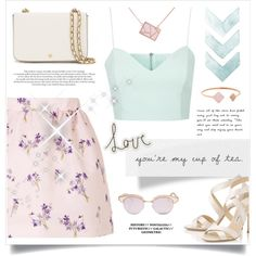 How To Wear FELL IN LOVE WITH SPRING Outfit Idea 2017 - Fashion Trends Ready To Wear For Plus Size, Curvy Women Over 20, 30, 40, 50