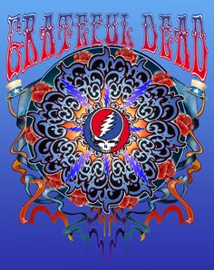 Grateful Dead New Years Rose LIMITED RUN 50 Poster Archival Giclee Mike Dubois | eBay