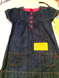 Denim - Carter's size 2.