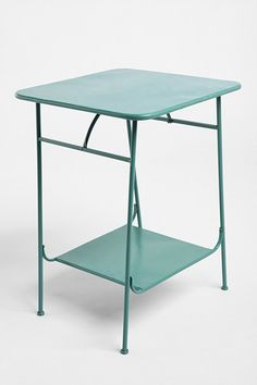 Green Factory Side Table - my perfect bedside table.