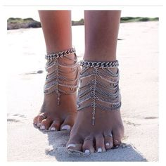 Isabella anklet... love these!