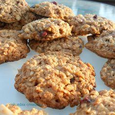 Columbia Creations: Flourless Tahini Cookies