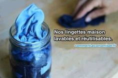 Comment Faire Ses Propres Lingettes Nettoyantes Lavables et Réutilisables.