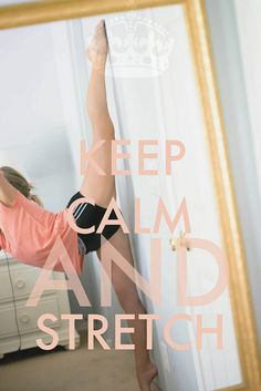 Stretching is sooo important! Learned this the hard way.