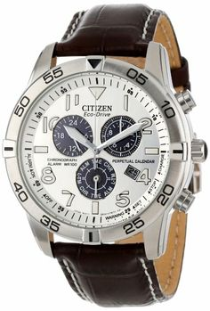Citizen Men's BL5470-06A Eco-Drive Stainless Steel Perpetual Calendar Chronograph Watch: Watches: Amazon.com