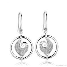 925 Silver Retro Fashionable Earrings