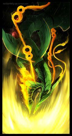 Mega Rayquaza: Dragon Ascent by ItsOver900O.deviantart.com on @deviantART