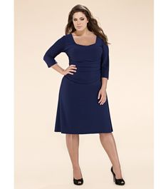 ebay plus size dresses in navy
