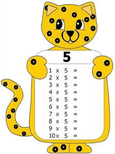 The Multiplication Table Preschool Printables, Preschool Math, Math Activities, Maths Times Tables, Math Tables, File Folder Activities, Math Boards, Math Multiplication, School Posters