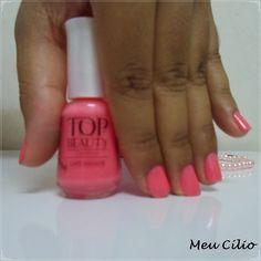 Esmalte Dote,um rosa bem fofo e delicado :) lá no #blog tem mais! http://meucilio.blogspot.com.br/