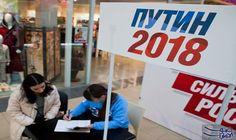 بدء جمع التوقيعات الشخصية اللازمة لتأكيد ترشّح فلاديمير بوتين إلى الرئاسة: بدأت جهود مؤيدي الرئيس الروسي فلاديمير بوتين، لضمان فوزه في…
