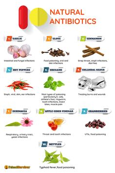 There are numerous studies which show that natural antibiotics are just as good as pharmaceuticals. In some cases studies show that the natural antibiotics are even more effectivethan the pharmaceutical.Keep in mind that studies usually dont use the ra Natural Health Remedies, Herbal Remedies, Cold Remedies, Sleep Remedies, Acne Remedies, Natural Medicine, Herbal Medicine, Holistic Medicine, Health Tips