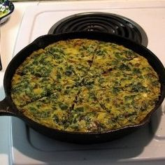 Spinach frittata (easy and yummy)