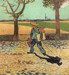 Gogh, Vincent Willem van: Der Maler auf dem Weg zur Arbeit