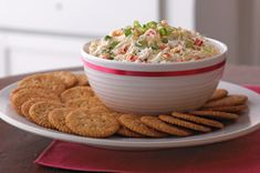 Creamy Crab and Red Pepper Spread recipe~Kraft Recipes via Baking and Cooking, A Tale of Two Loves onto Appetizers Kraft Recipes, Ww Recipes, Cooking Recipes, Kraft Foods, Healthy Recipes, Healthy Dips, Eating Healthy, Plats Weight Watchers, Recipes