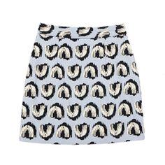 U-Shaped Patterned Skirt