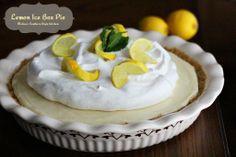 Melissa's Southern Style Kitchen: Lemon Ice Box Pie