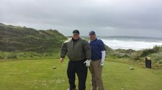 Standing on the ladies tee box at the hole at Trump/Doonbeg - this hole is no longer in play since Jan Big winter storms Golf Ireland, Winter Storm, Concierge, Storms, Play, Couple Photos, Couple Shots, Thunderstorms, Couple Pics