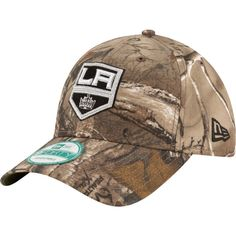 New Era Men's Los Angeles Kings 9Forty The League Real Tree Camo Adjustable Hat, Team