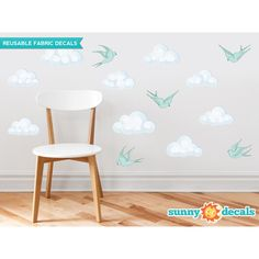 You'll love the Modern Cloud Wall Decal at Wayfair - Great Deals on all Décor products with Free Shipping on most stuff, even the big stuff.