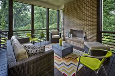 Patio Off Screened Porch Outdoors Pinterest